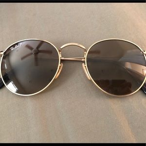 Ray Ban Lennon Gold Polarized Sunglasses